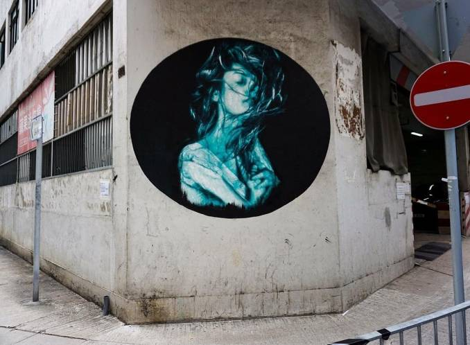 snik - street art - hong kong walls