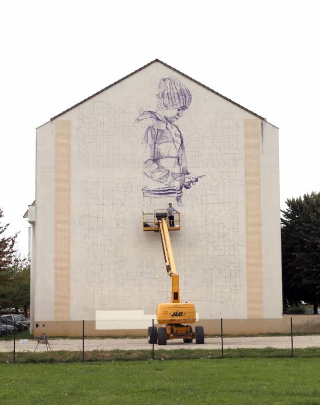 fintan magee - wall street art festival - savigny-le-temple