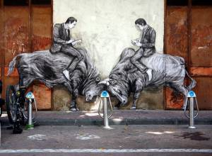 levalet - street art - doubler la mise - k-live festival - sete