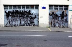 levalet - street art - hospitalité - reims