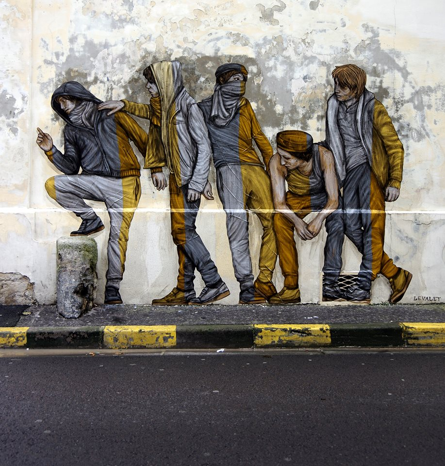 levalet - street art - integration - reims
