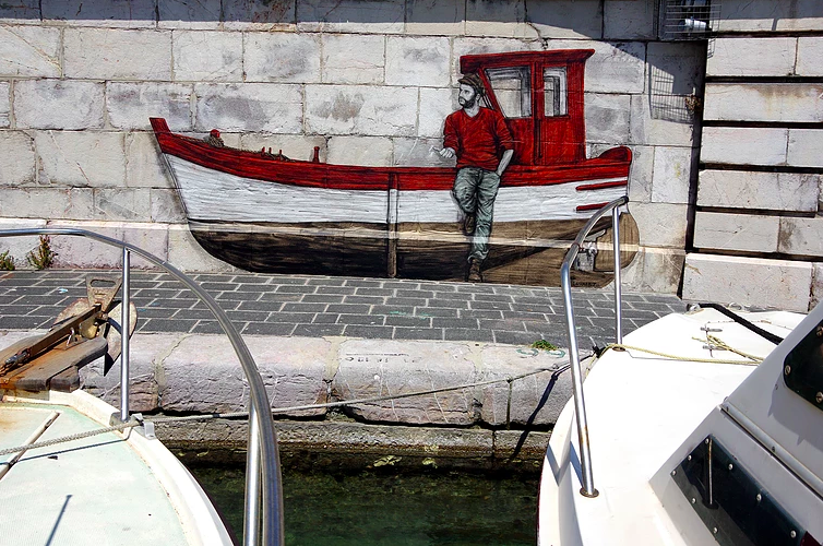 levalet - street art - panne seche - k-live festival - sete