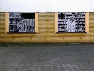 levalet - street art - partnership - ostende