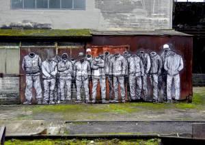 levalet - street art - plan social - urbanart biennale - volklingen