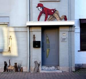 levalet - street art - rescue - ostende
