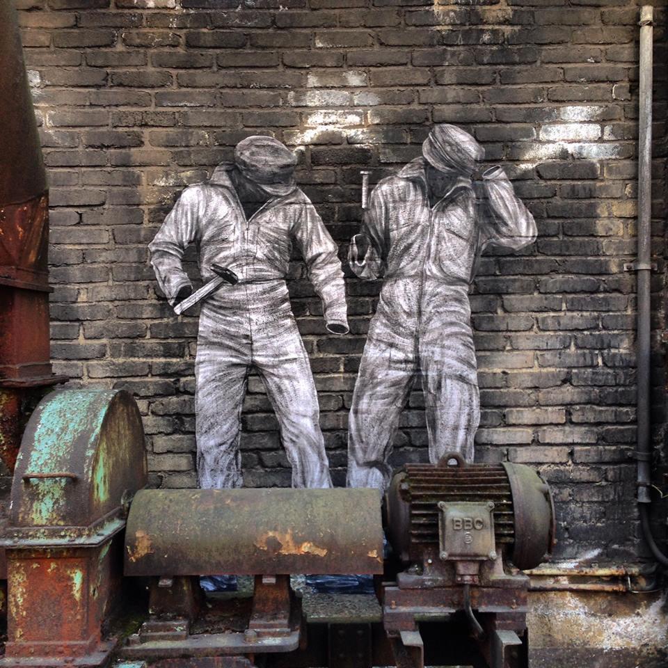 levalet - street art - soins palliatifs - urbanart biennale - volklingen