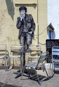 levalet - street art - something strong - k-live festival - sete