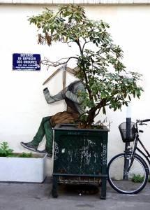 levalet - street art - une place au soleil - paris