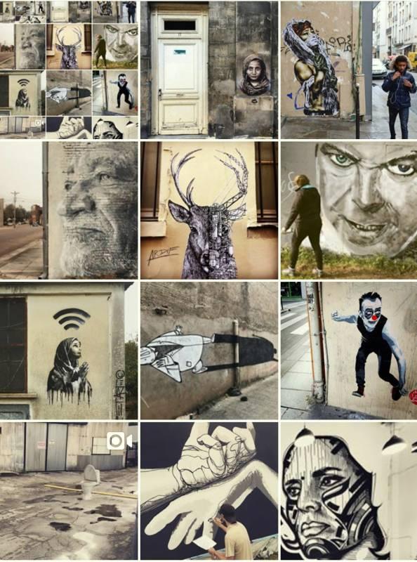 street art avenue - mosaic - cream - novembre 2017
