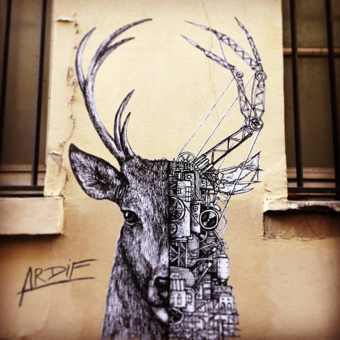 ardif - street art avenue - mosaic - paris