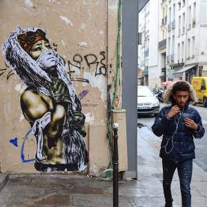eddie colla - street art avenue - mosaic - paris