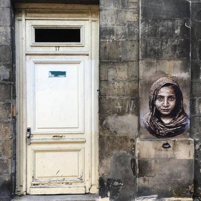 nasti - street art avenue mosaic - bordeaux