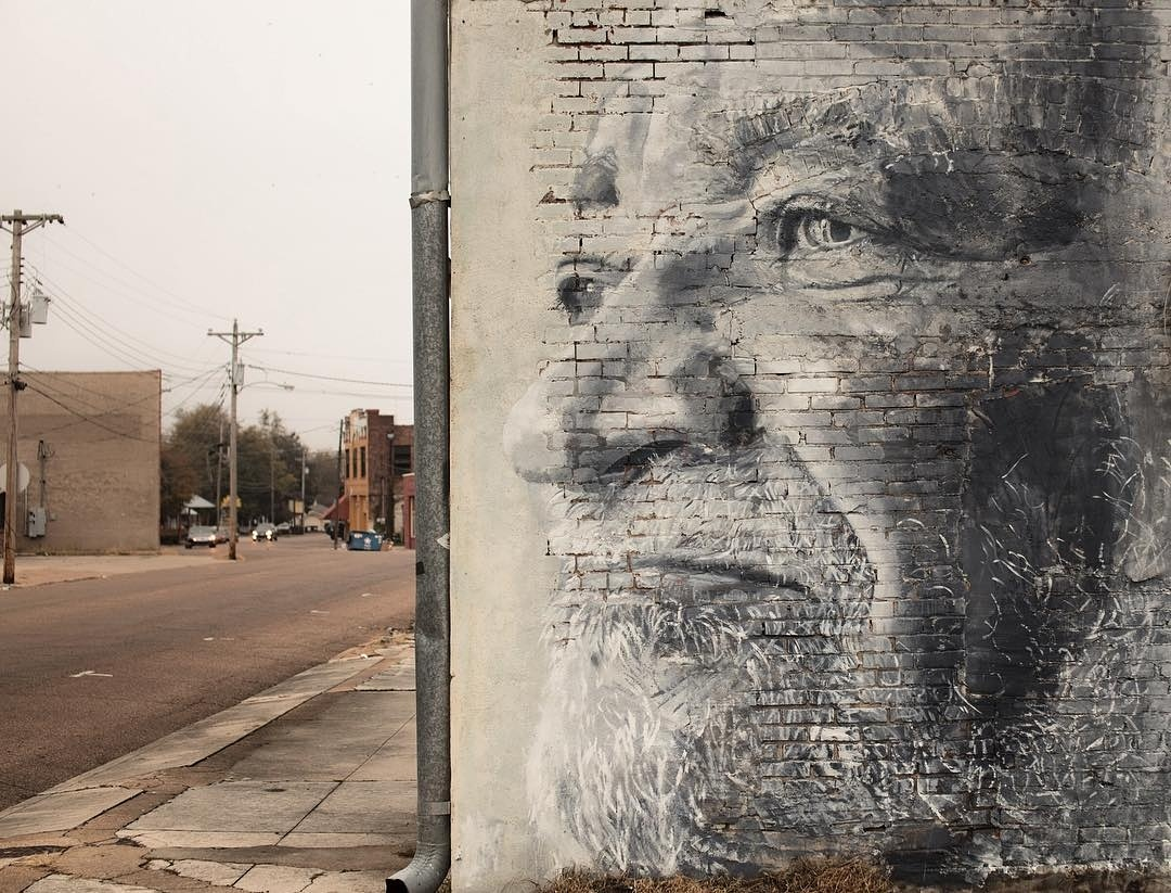 rone - street art avenue - mosaic - menphis - tenessee