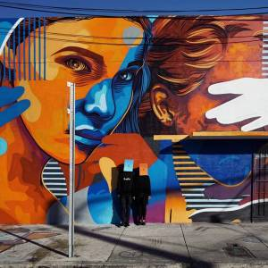 dourone - street art - the light - wynwood miami