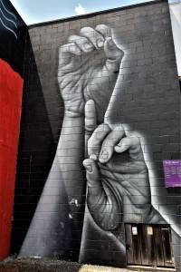 owen dippie - street art - taupo - nouvelle zélande