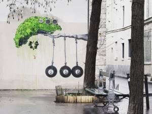 ludo - street art - religion - paris