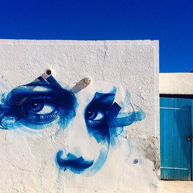 street art avenue - mosaic - dan23 - djerbahood