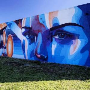 street art avenue - mosaic - dourone - wynwood - miami
