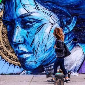 street art avenue - mosaic - hopare - bogota