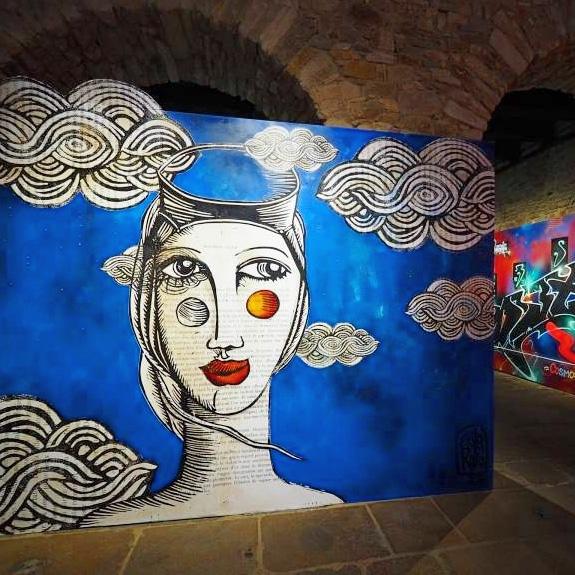 street art avenue - mosaic - erika raio - hors cadre - vannes