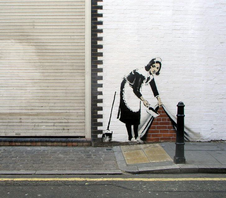 banksy - street art - graffiti - londres