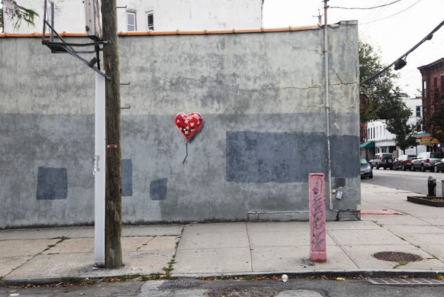 banksy - street art - graffiti - new york