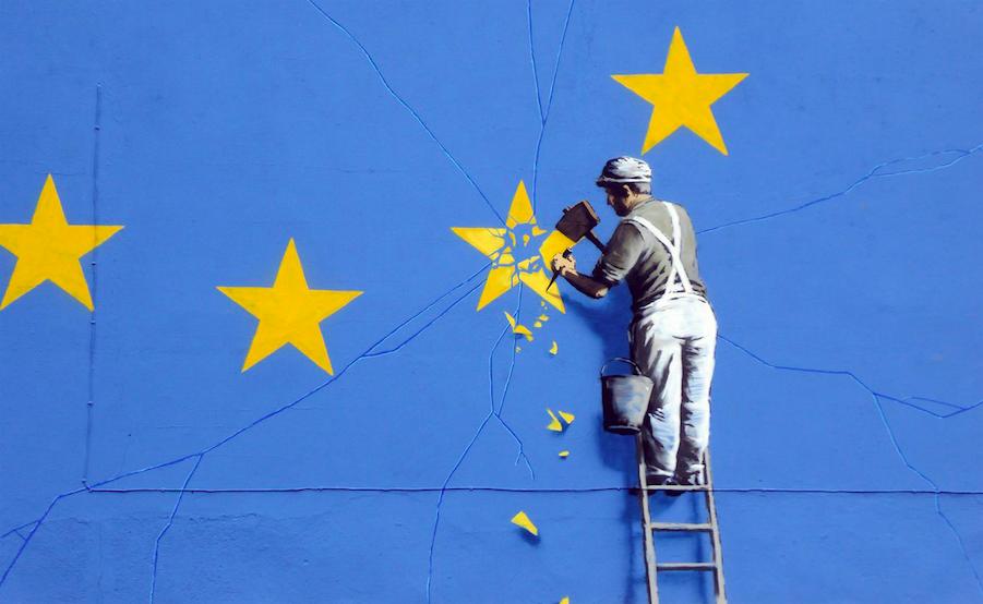 banksy - street art - graffiti - dover - europe