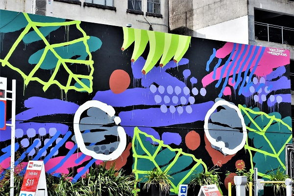 askew one - street art - auckland - nouvelle zélande