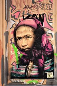 guate mao - street art - marseille - france