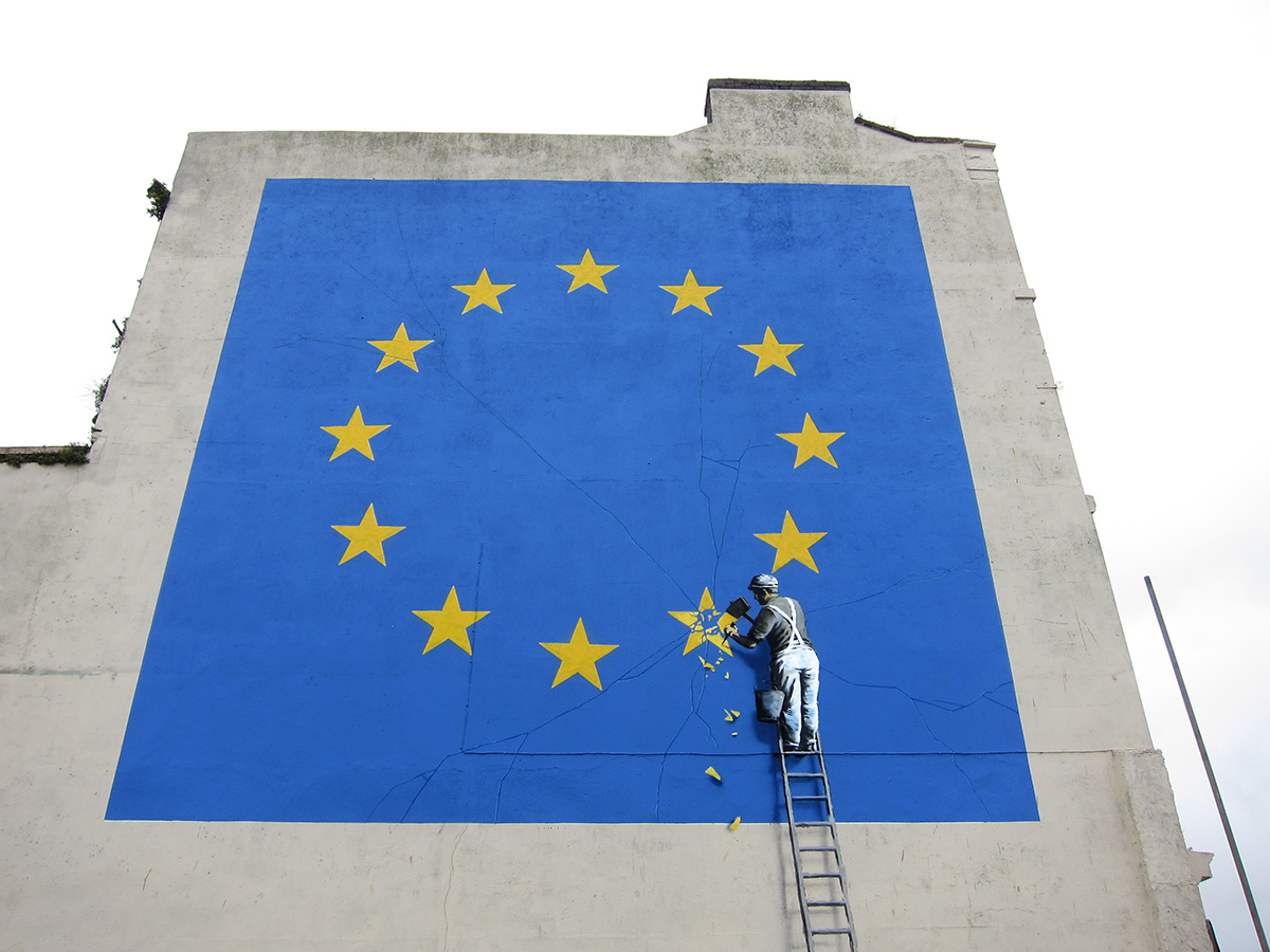 banksy - street art - graffiti - dover - europe