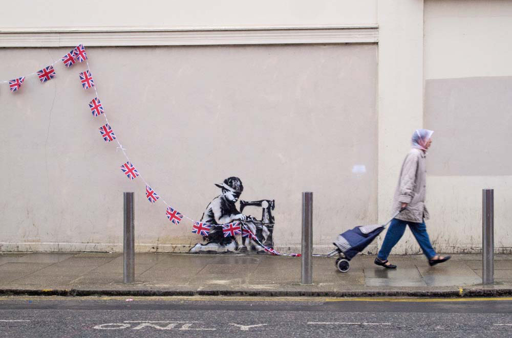 banksy - street art - graffiti - london