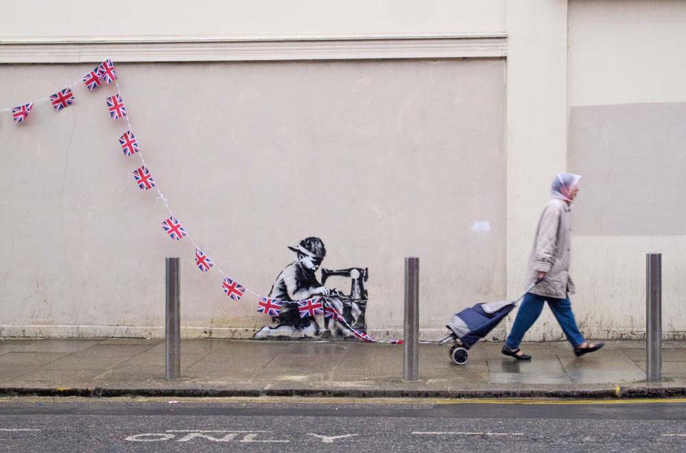 banksy - street art - graffiti - london
