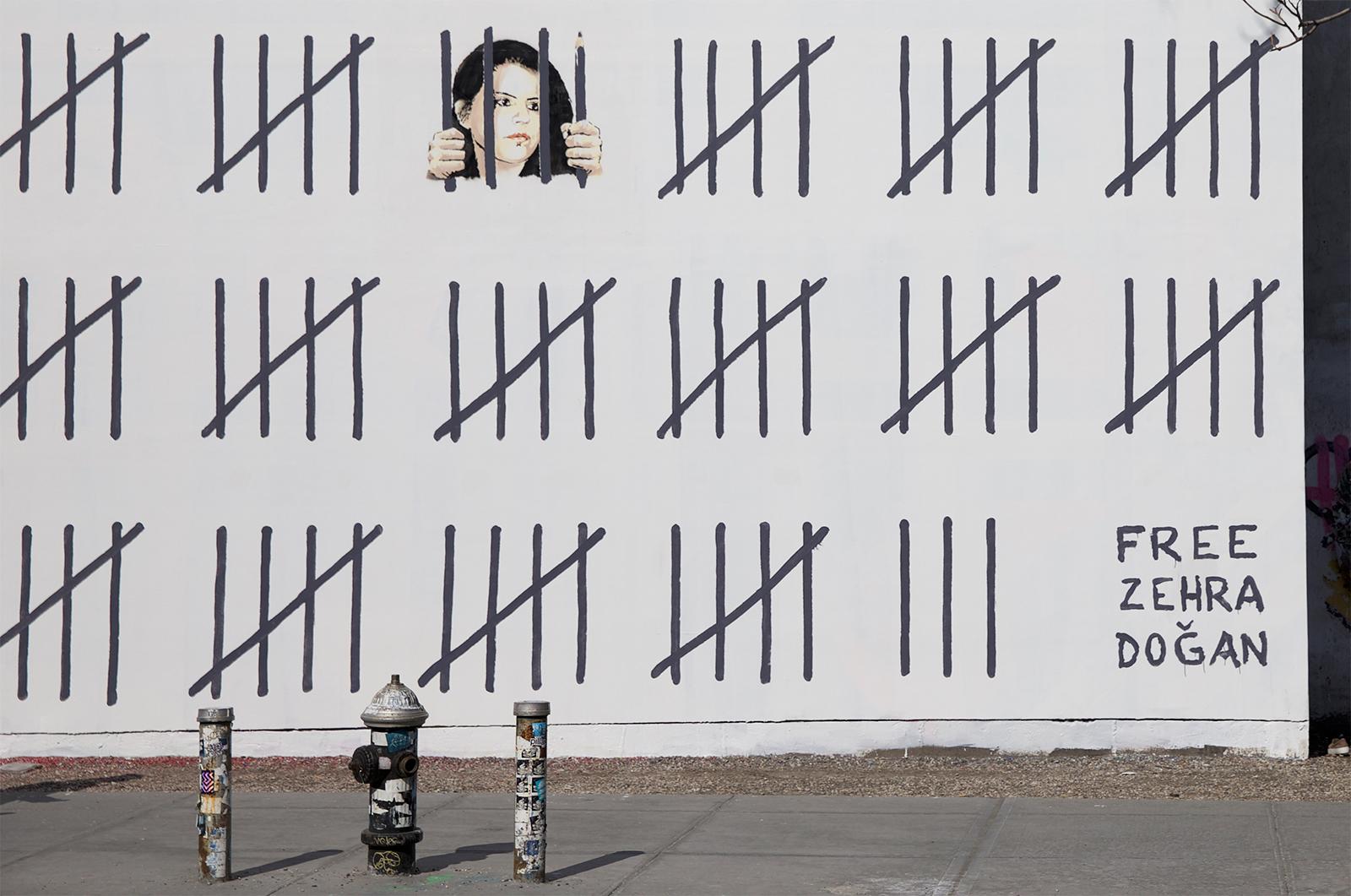 banksy - street art - graffiti - zehra dogan - new-york
