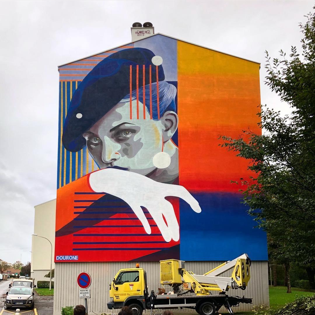 dourone - street art - bayonne