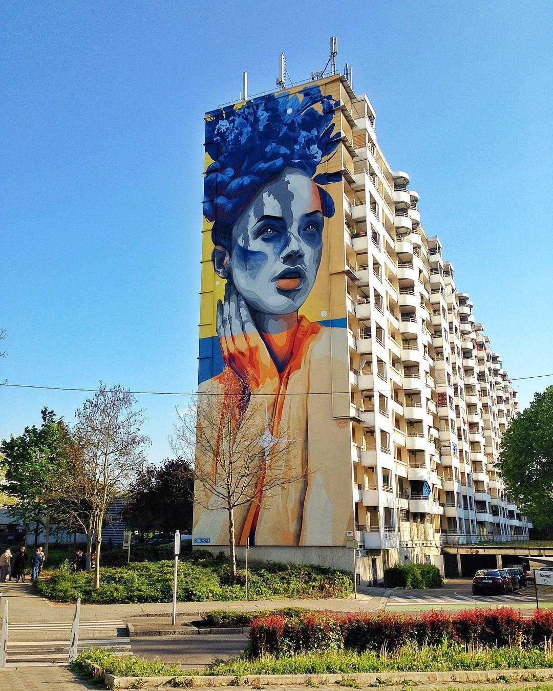 dourone - street art - mulhouse