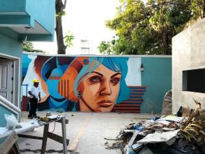 dourone - street art - playa del carmen - mexico