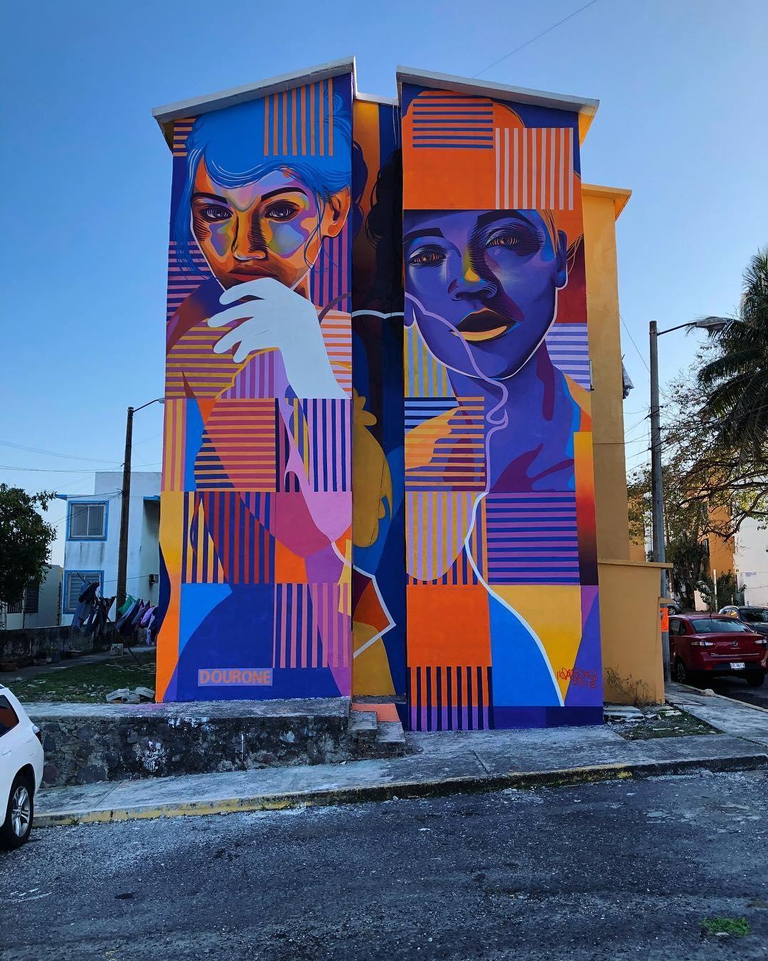 dourone - street art - vera cruz - mexico