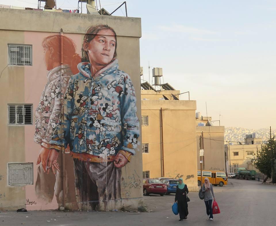 fintan magee - street art - amman - jordanie