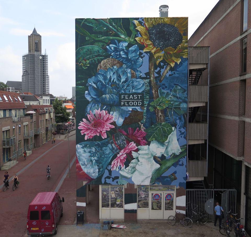 fintan magee - street art -arnhem - pays-bas