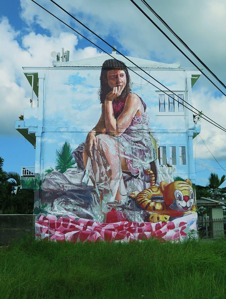 fintan magee - street art - bali - indonesie