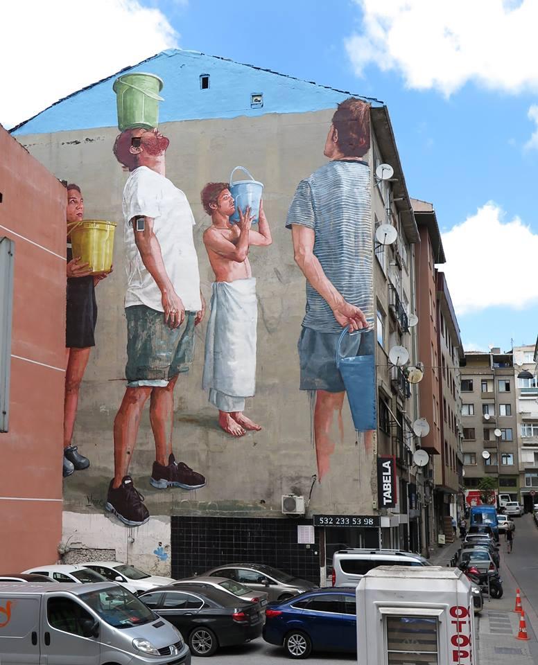 fintan magee - street art - istanbul - turquie