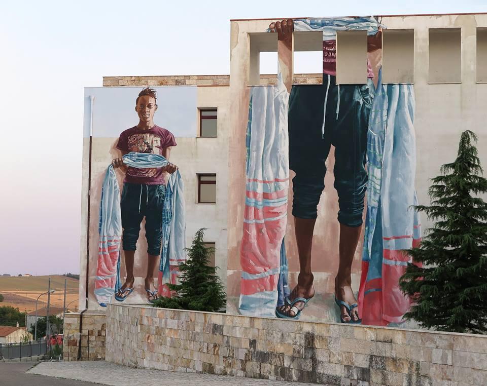 fintan magee - street art - monteleone di puglia - italie