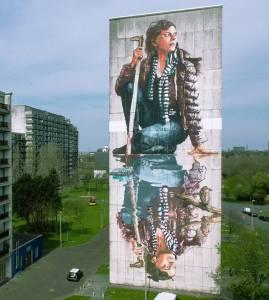 fintan magee - street art - ostende - belgique