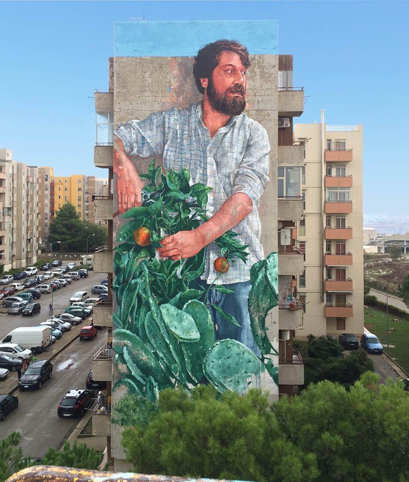 fintan magee - street art - ragusa - italie