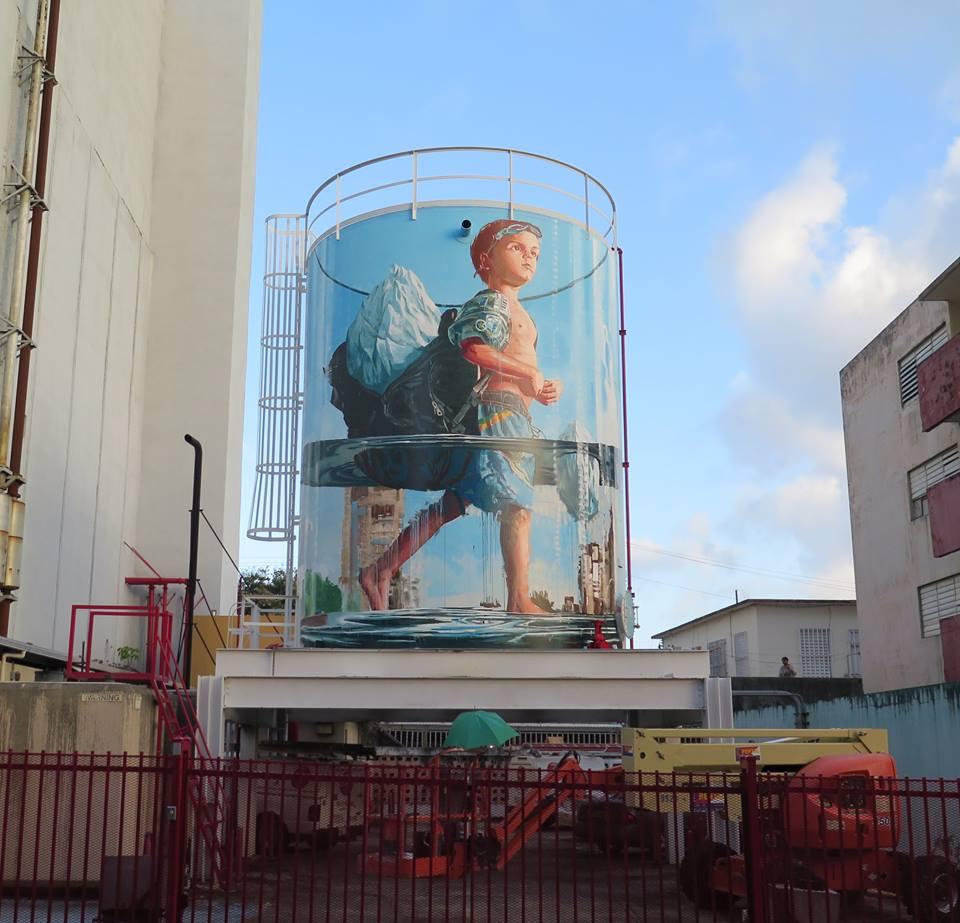 fintan magee - street art - san juan - porto rico