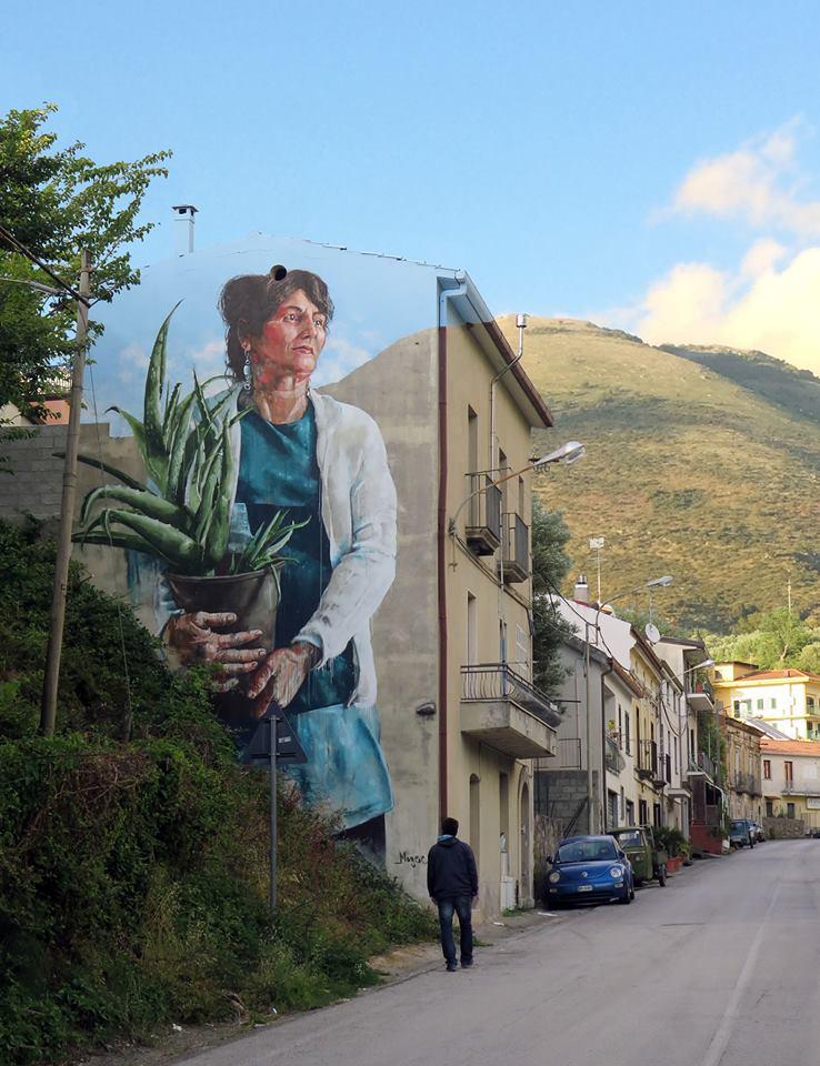 fintan magee - street art - sapri - italie