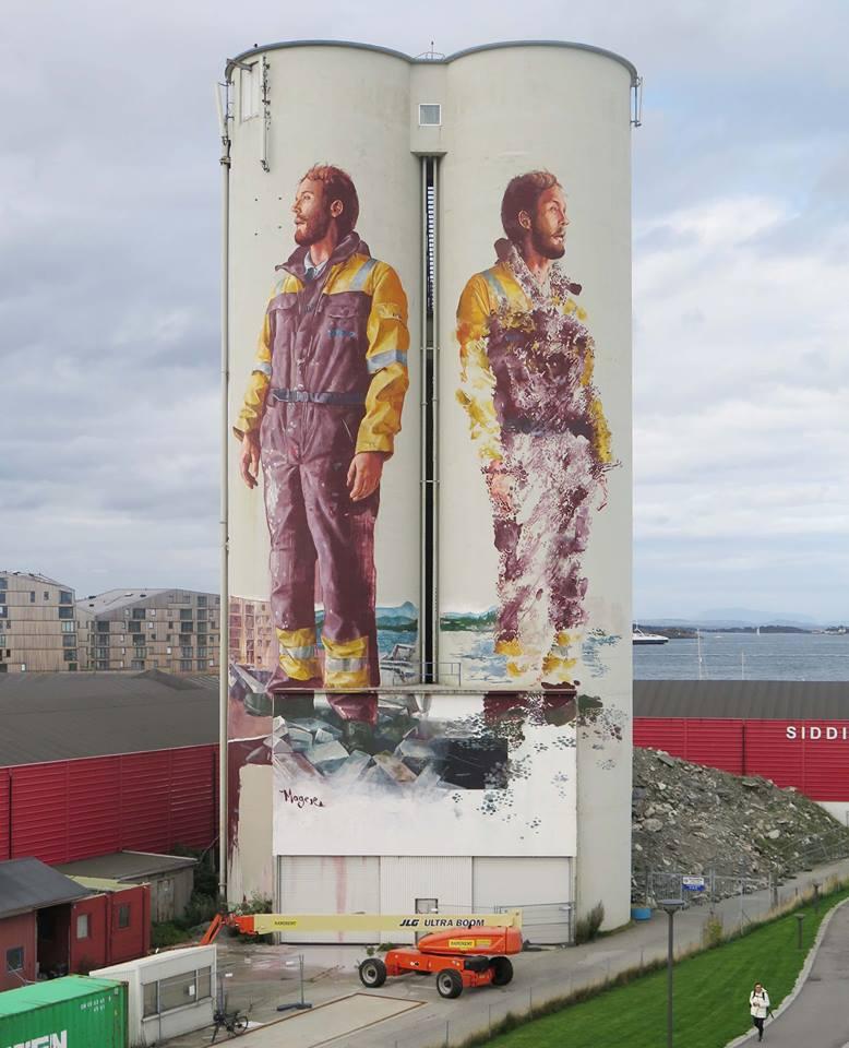 fintan magee - street art - nuart festival - stavanger