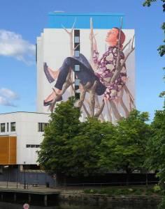 fintan magee - street art - boras suede