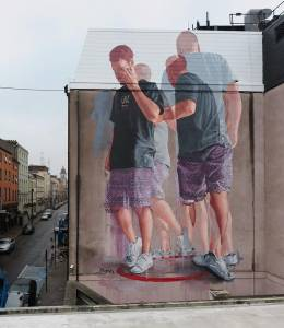 fintan magee - street art - waterford - irlande