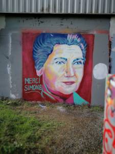 merci simone - street art - peinture - graffiti